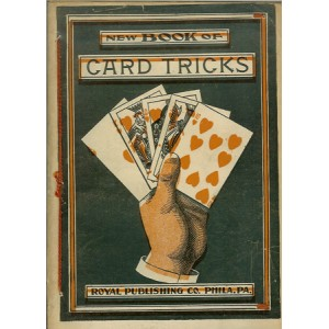 NEW BOOK OF CARD TRICKS – TRICKS AND DIVERSIONS WITH CARDS