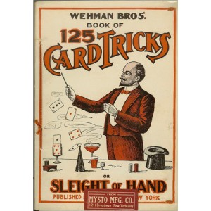 WEHMAN BROS'. BOOK OF 125 CARD TRICKS AND SLEIGHT OF HAND