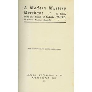 A MODERN MYSTERY MERCHANT (CARL HERTZ)