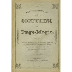 INTRODUCTIONS IN CONJURING AND STAGE-MAGIC