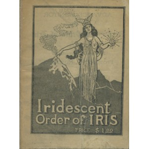 ADVANCE MONITOR OF THE IRIDESCENT ORDER OF IRIS
