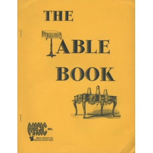THE TABLE BOOK (GLOYE Eugene, MARSHALL Jay)