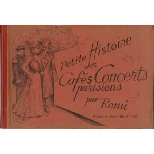 PETITE HISTOIRE DES CAFÉS CONCERTS PARISIENS par ROMI