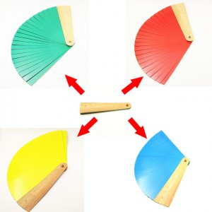 FOUR COLOR MAGIC FAN