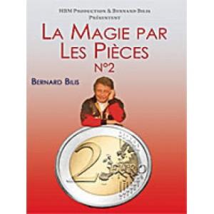 DVD LA MAGIE PAR PIÈCES N°2 (Bernard Bilis)