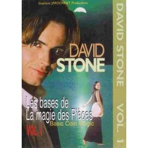 DVD LES BASES DE LA MAGIE DES PIÈCES VOL. 1 (David Stone)