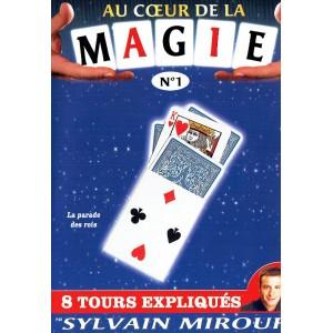 DVD AU COEUR DE LA MAGIE N°1 (Sylvain Mirouf)