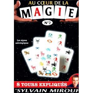DVD AU COEUR DE LA MAGIE N°2 (Sylvain Mirouf)