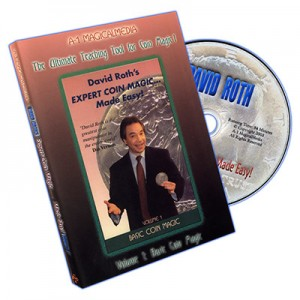 DVD DAVID ROTH'S EXPERT COIN MAGIC... MADE EASY! Volume 1