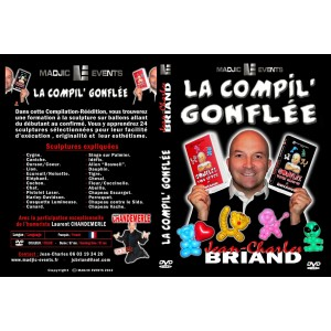 DVD LA COMPIL' GONFLEE (Jean-Charles BRIAND)