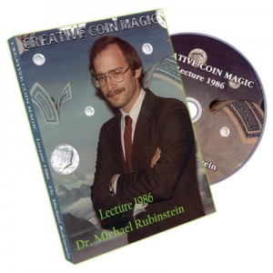 DVD CREATIVE COIN MAGIC Lecture 1986 - Dr. Michael Rubinstein