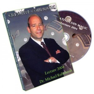 DVD CREATIVE COIN MAGIC Lecture 2004 - Dr. Michael Rubinstein