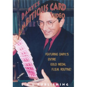 DVD DARYL'S AMBITIOUS CARD VIDEO