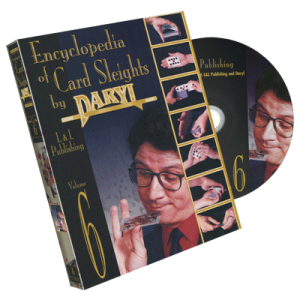 DVD ENCYCLOPEDIA OF CARD SLEIGHTS BY DARYL Volume 6