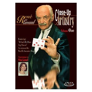 DVD CLOSE-UP ARTISTRY Volume One (René Lavand)