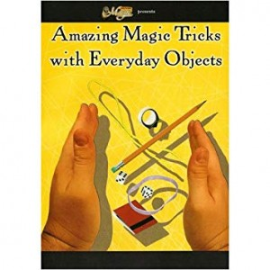 DVD AMAZING MAGIC TRICKS WITH EVERYDAY OBJECTS
