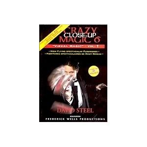 DVD CRAZY CLOSE-UP 6 - VOL. 1 (DAVID STEEL)