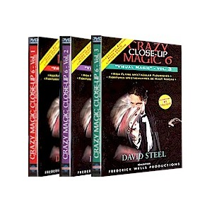 DVD CRAZY CLOSE-UP 6 - VOL. 3 (DAVID STEEL)