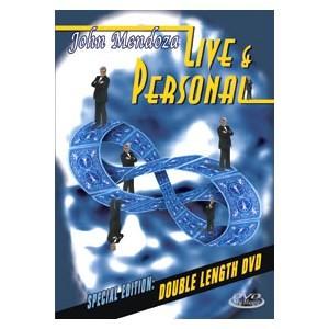 DVD LIVE & PERSONAL - John Mendoza