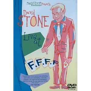 DVD LIVE AT F.F.F.F. - David STONE