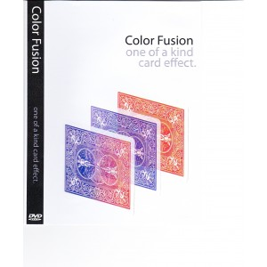 DVD COLOR FUSION - ONE OF A KIND CARD EFFECT