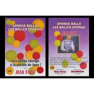 DVD SPONGE BALLS - LES BALLES EPONGE VOLUME 1 (Jean Faré)