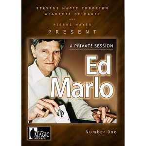 DVD A PRIVATE SESSION Number One - ED MARLO