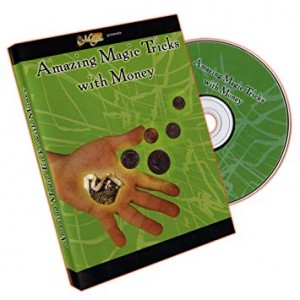 DVD AMAZING MAGIC TRICKS WITH MONEY