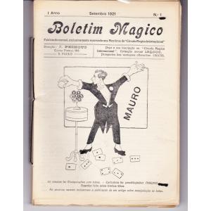 Boletim Mágico J. Peixoto - 1921-1925