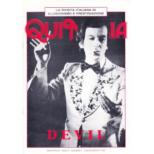 QUI MAGIA - ANNO V - NUMERO 4 - LUGLIO/AGOSTO 1992