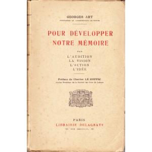 POUR DÉVELOPPER NOTRE MÉMOIRE (GEORGES ART)