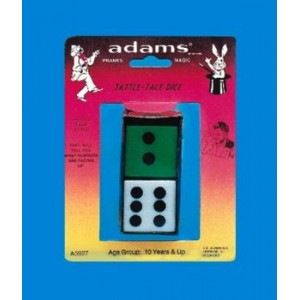 TATTLE-TALE DICE (Adams)