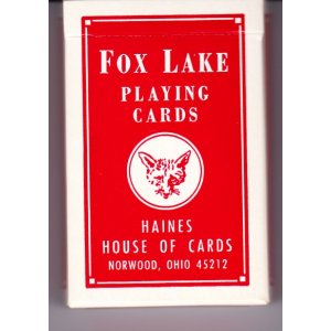 FOX LAKE PLAYNG CARDS