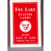 Carte FOX LAKE Face Normale Dos Blanc
