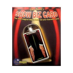 SHOW BIZ CARD (GUY BAVLI)