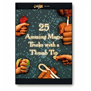 DVD 25 AMAZING MAGIC TRICKS WITH A THUMB TIP