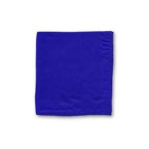 Foulard bleu de taille 45x45 cm