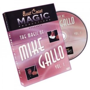 DVD THE MAGIC OF MIKE GALLO VOL. 1