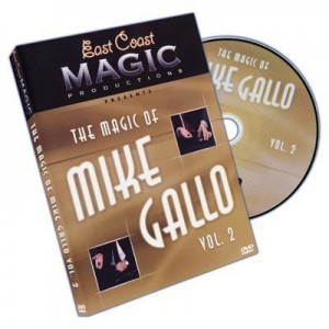 DVD THE MAGIC OF MIKE GALLO VOL. 2
