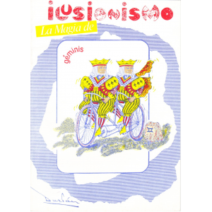 MAGIA - REVISTA ILUSIONISMO LA MAGIA DE GEMINIS - MARZO ABRIL - 1990 Nº 346
