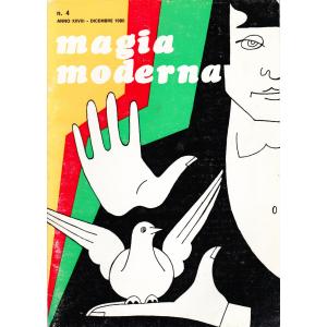 MAGIA MODERNA N. 4 ANNO XXVIII - DECEMBRE 1980