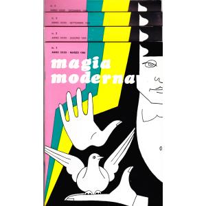MAGIA MODERNA  ANNO XXXII - 1984 (N. 1, 2, 3, 4)