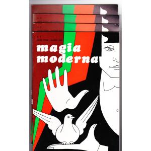 MAGIA MODERNA  ANNO XXXIII - 1985 (N. 1, 2, 3, 4)