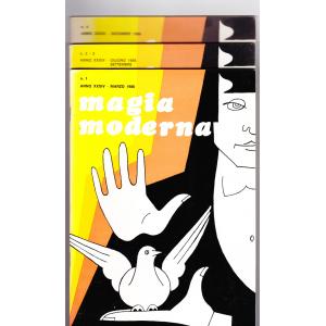 MAGIA MODERNA  ANNO XXXIV - 1986 (N. 1, 2, 3, 4)