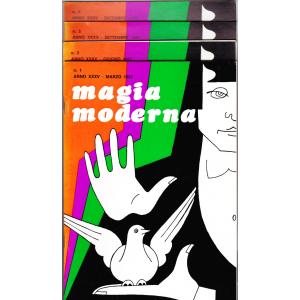 MAGIA MODERNA  ANNO XXXV - 1987 (N. 1, 2, 3, 4)