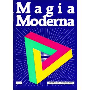 MAGIA MODERNA ANNO XXXVI – 1988 (N. 1, 2, 3, 5, 6)