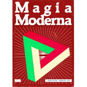 MAGIA MODERNA ANNO XXXVII – 1989 (N. 1, 2, 3, 4)