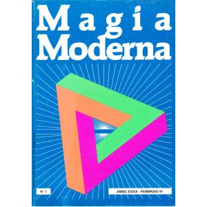 MAGIA MODERNA ANNO XXXIX - 1991 (N. 1, 2, 3, 4, 5, 6)