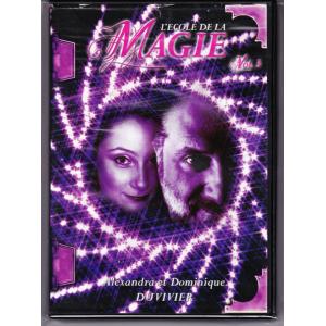 DVD L'ECOLE DE LA MAGIE Vol. 3 - Alexandra et Dominique DUVIVIER