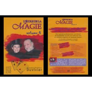DVD L'ECOLE DE LA MAGIE Vol. 4 - Alexandra et Dominique DUVIVIER